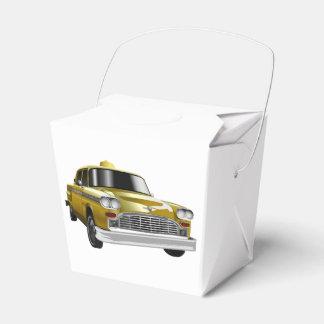 New York City Yellow Vintage Cab Favor Box