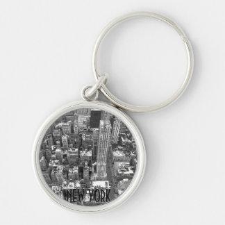 New York Cityscape Key Chain New York Souvenirs