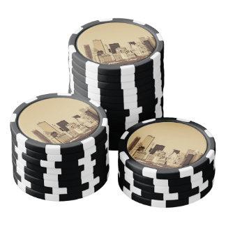 New York Cityscape Poker Chips
