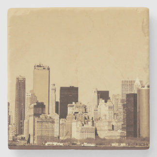 New York Cityscape Stone Coaster