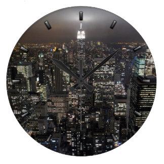 New York  Clock Gifts Decor NY Wall Clock