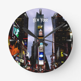 New York  Clock Times Square NY Wall Clock