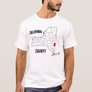 New York: Columbia County T-Shirt