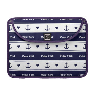 New York cruises pattern Sleeve For MacBook Pro