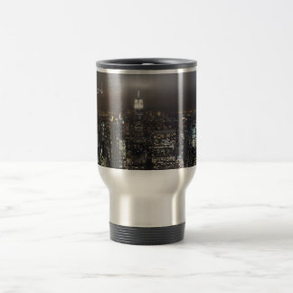 New York Cup Cityscape New York Night Mug