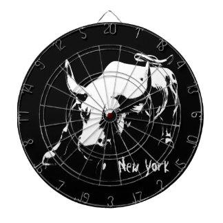 New York Dartboard New York Bull Statue Dartboard