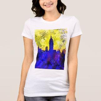 'New York' Digital Art T-Shirt