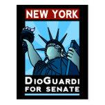 New York DioGuardi for Senate Postcard