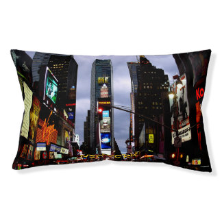 New York Dog Bed New York Souvenir Pet Bed Custom