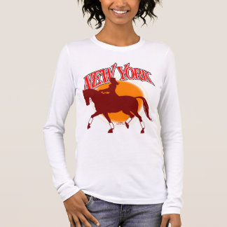 New York Dressage sunrise shirt F/B