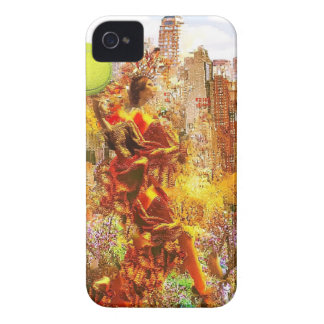 New york dresses up to celebrate the tennis sport iPhone 4 case