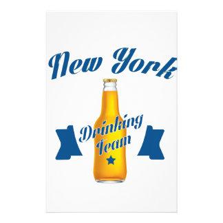 New York Drinking team Stationery