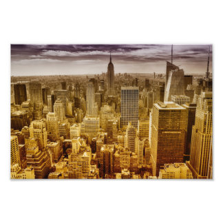 New york , empire state building , manhattan photo art