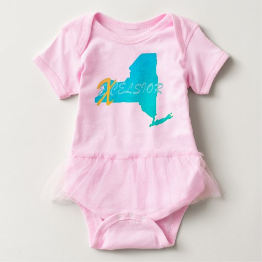 New York eXcelsior  Baby Tutu Bodysuit