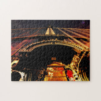 New York Fairy Tale - Colorful Architecture Jigsaw Puzzle