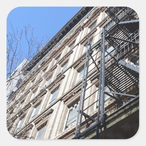 New York Fire Escape Stickers