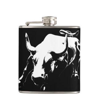 New York Flasks NYC Souvenir Bull Statue Flask