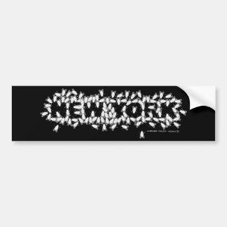 New York Flies Bumper Sticker