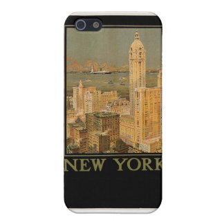 New York from Glasgow by the Anchor Line iPhone 5 Case