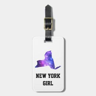 New York Galaxy Empire State Luggage Tag