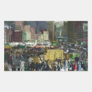 New York - George Bellows Sticker