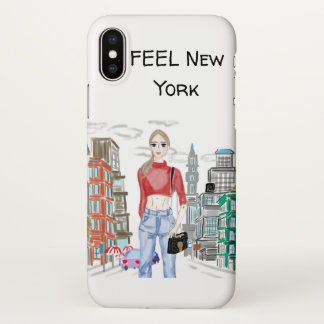 New York Girl iPhone X Case