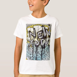 New York Graffiti Scene T-Shirt