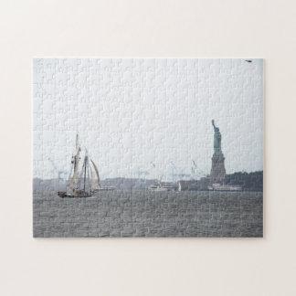 New York Harbor in Fog puzzle