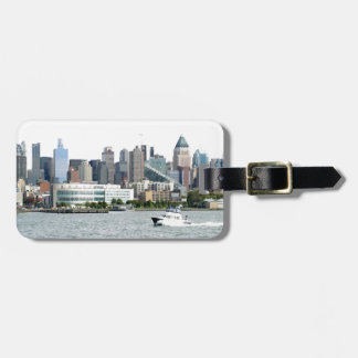 New York Harbor Luggage Tag