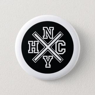 New York Hardcore 2 Inch Round Button