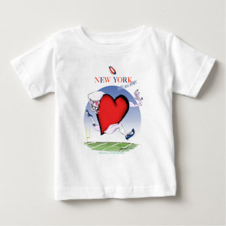 New York Head and Heart, tony fernandes Baby T-Shirt