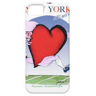 New York Head and Heart, tony fernandes iPhone 5 Cover