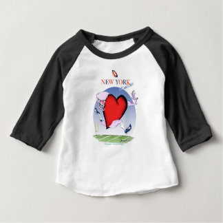 new york head heart, tony fernandes baby T-Shirt