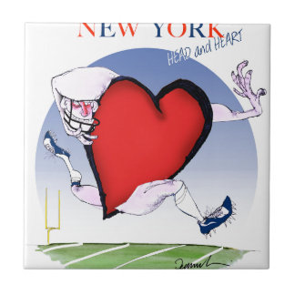 new york head heart, tony fernandes ceramic tiles