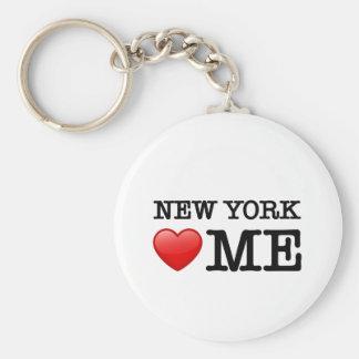 New York Heart ME Keychain