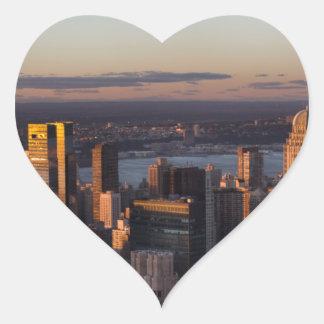 New York Heart Sticker