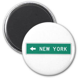 New York Highway Sign Magnet