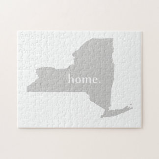 New York Home State Jigsaw Puzzle