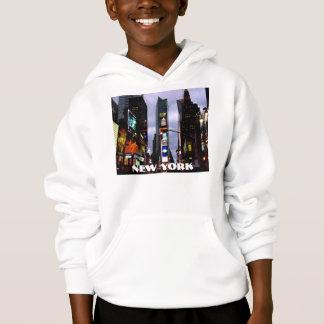 New York Hoodie Kid Times Square Hooded Sweatshirt
