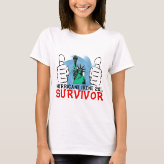 New York Hurricane Irene 2011 Survivor T-Shirt