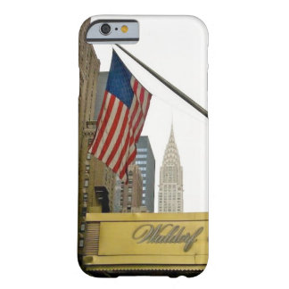 New York icons - Waldorf and Chrysler Building Barely There iPhone 6 Case