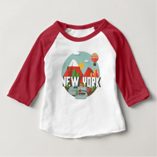 New York in Design Baby T-Shirt