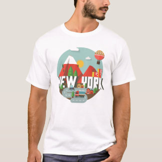 New York in Design T-Shirt