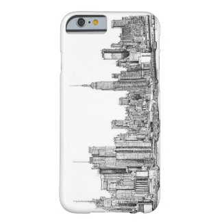 New York ink drawings Barely There iPhone 6 Case