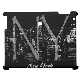 New York iPad Case NYC City Lights Souvenir Case