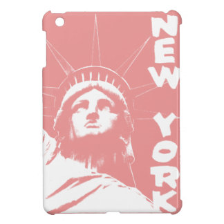 New York IPad Mini Case Pink Statue of Liberty