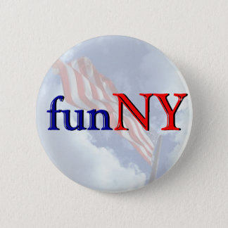 New York is Fun - funNY 2 Inch Round Button