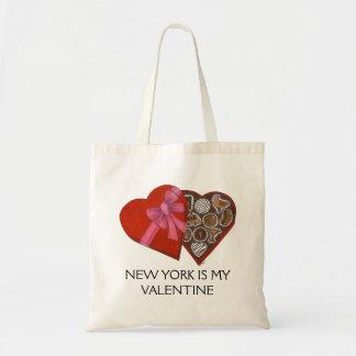 New York Is My Valentine Box of Chocolates Bag
