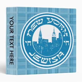 New York Jewish Binder