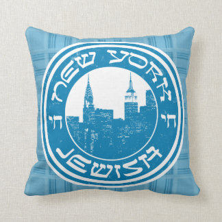 New York Jewish Cushion